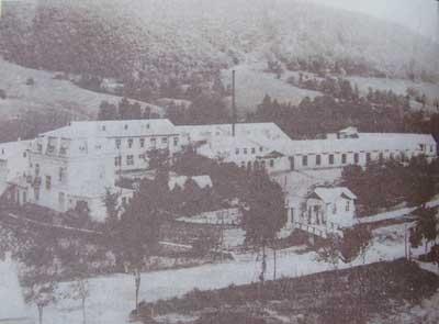 Ленено-конопената тъкачна фабрика на Георги Т. Рашеев.